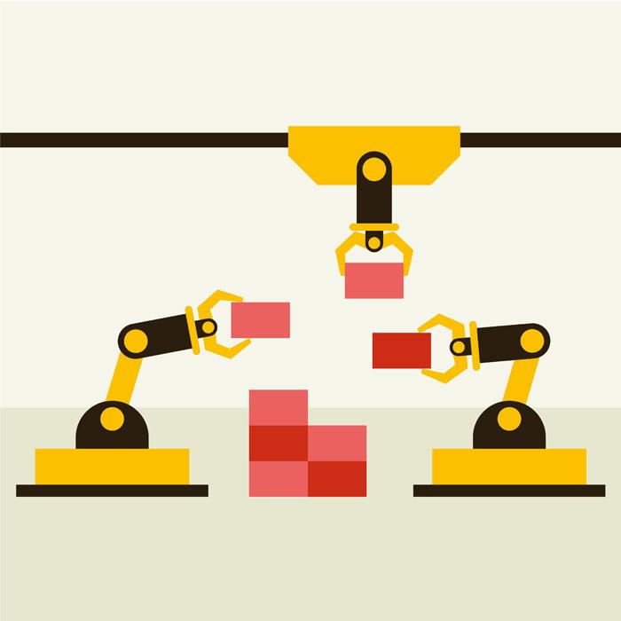 工業用ロボ